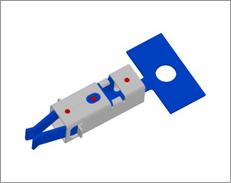 2部品一体品・レーザー溶接(プレス材料+プレス材料)/自動車部品向け