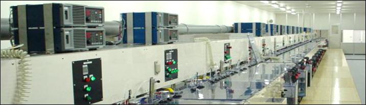 一貫生産体制.3「めっき加工」|フープ連続めっきラインの画像