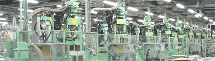 一貫生産体制.3「めっき加工」|フープ連続インサート成形ラインの画像