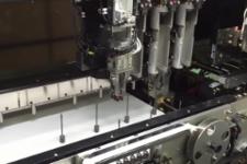ディスペンサー品種切り替え時の段取り作業を自動化